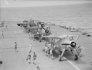 AIRCRAFT OF HMS INDOMITABLE. 16 JUNE 1942.