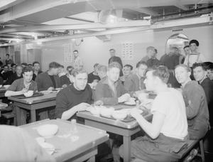 HMS AVENGER. 27 JUNE 1942.