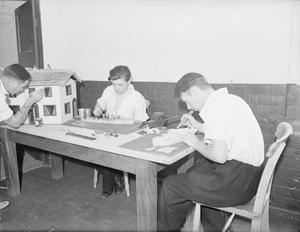 RN AUXILIARY HOSPITAL, CHOLMONDLEY CASTLE. 7-14 JULY 1942.