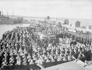 HMS HOWE. AUGUST 1942.