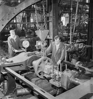 THE BRITISH LOCOMOTIVE BUILDING INDUSTRY: THE PRODUCTION OF RAILWAY LOCOMOTIVES, UK, 1945