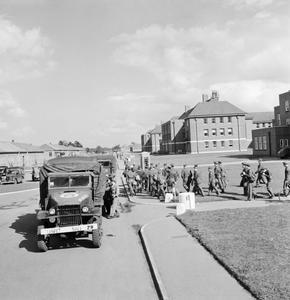US ARMY UNIVERSITY, SHRIVENHAM, ENGLAND, UK, 1945