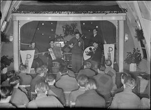 GERMAN PRISONERS OF WAR IN BRITAIN: EVERYDAY LIFE AT A GERMAN POW CAMP, UK, 1945