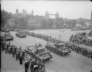 THE LONDON VICTORY PARADE