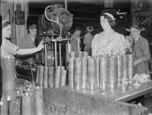 SHELL AND CARTRIDGE CASE PRODUCTION DURING THE SECOND WORLD WAR, UK