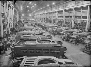 MATILDA TANK PRODUCTION DURING THE SECOND WORLD WAR, UK