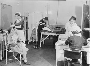 FACTORY WELFARE: THE FACTORY SURGERY, UK, 1941