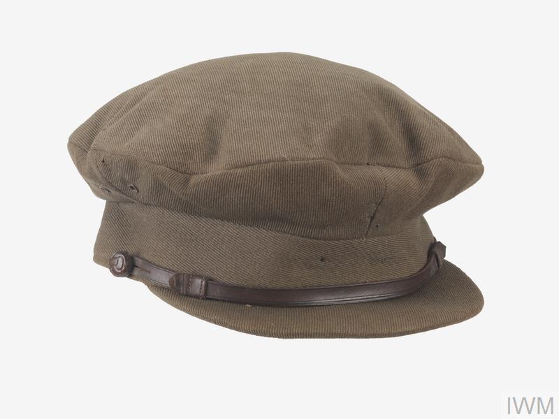 officer's service dress cap, khaki, Royal Artillery