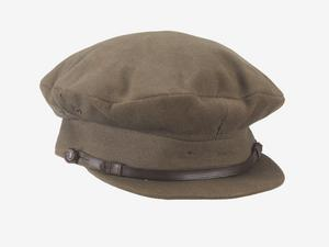 officer's service dress cap, khaki, Royal Artillery