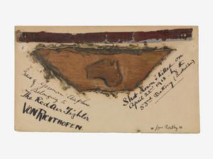 fragment, Richthofen's aircraft