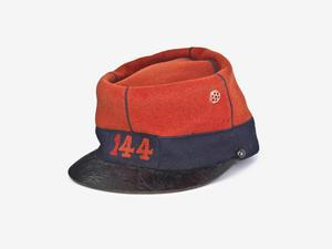 Kepi, M1884: O/Rs,  144 regiment d'infanterie