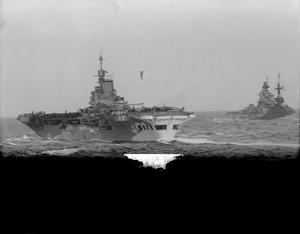 THE BRITISH NAVY SUPPORTING NORTH AFRICA CAMPAIGN. FORCE H AT SEA AND IN HARBOUR, 12 TO 14 JANUARY 1943, AT SEA AND AT MERS-EL-KEBIR. THE BRITISH NAVY SUPPORTING NORTH AFRICA CAMPAIGN.