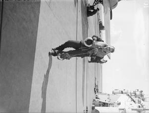 WINGS OF THE NAVY. ON BOARD HMS FORMIDABLE IN THE MEDITERRANEAN, DECEMBER 1942.