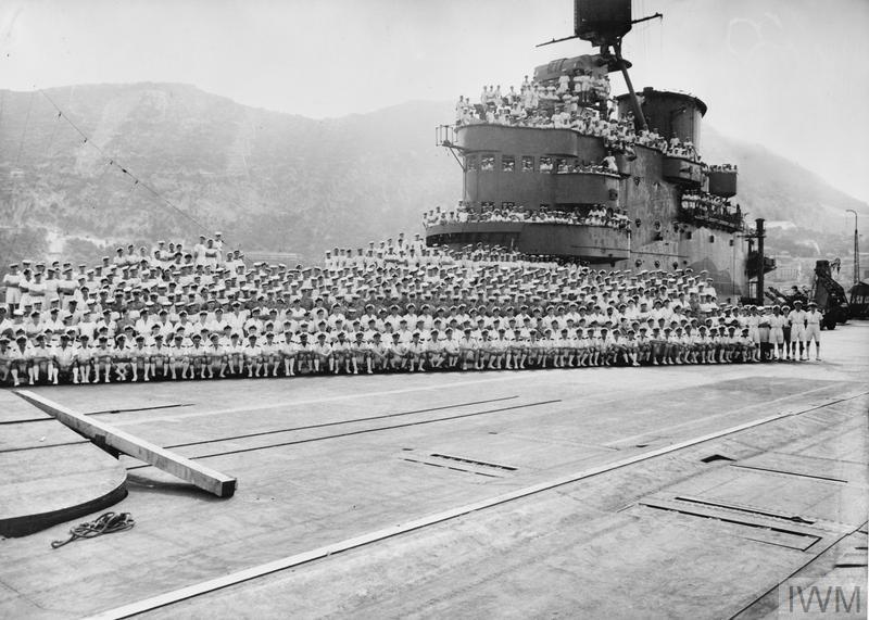 HMS INDOMITABLE.