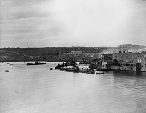 BRITISH SUBMARINE BASE AT MALTA. 26, 27 AND 28 JANUARY 1943, MALTA, HMS TALBOT, THE BRITISH SUBMARINE BASE AT MALTA.