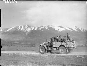 THE BRITISH ARMY IN GREECE 1941