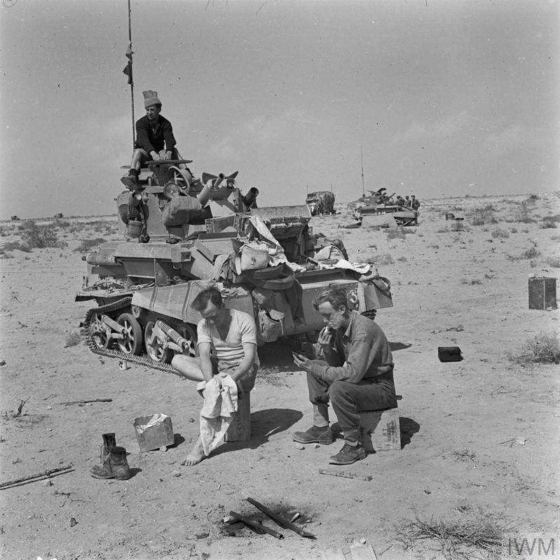 THE BRITISH ARMY IN NORTH AFRICA 1941 (E 2572
