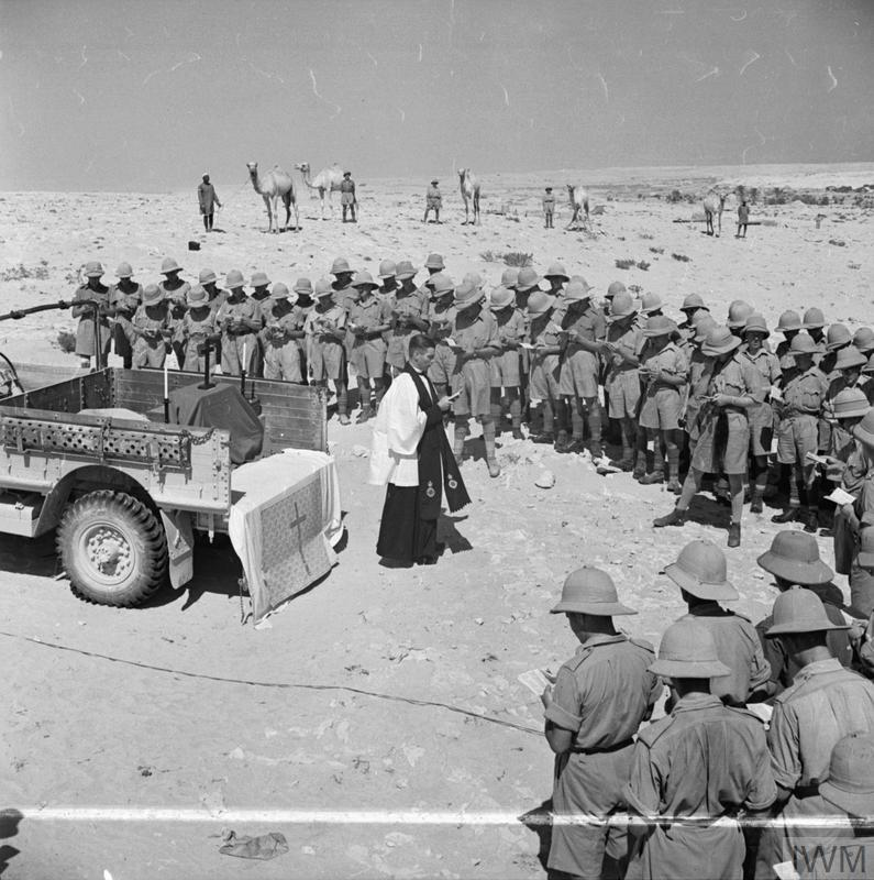 THE BRITISH ARMY IN NORTH AFRICA 1941 (E 4399