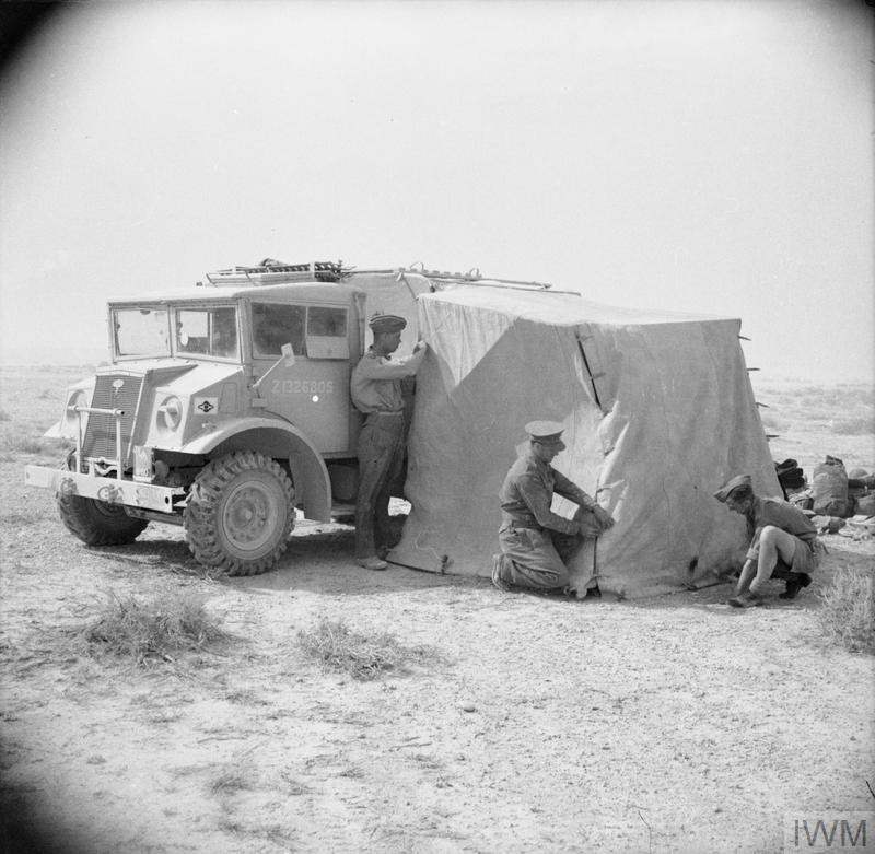 The British Army In North Africa 1942 E 11097