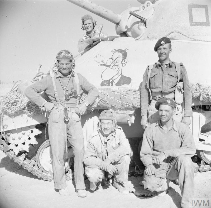 THE BRITISH ARMY IN NORTH AFRICA 1942 (E 18696