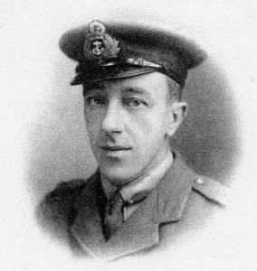 LIEUTENANT THE HONOURABLE MAURICE HENRY NELSON HOOD, HOOD BATTALION, ROYAL NAVAL DIVISION