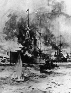 NAVAL OPERATIONS IN THE DARDANELLES CAMPAIGN, FEBRUARY-MARCH 1915