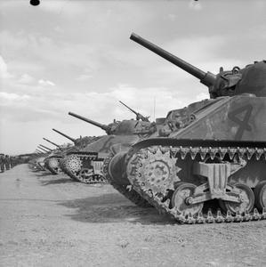 THE BRITISH ARMY IN TUNISIA 1943