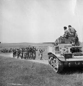 Surrender Of Axis Forces In North Africa Royal Irish