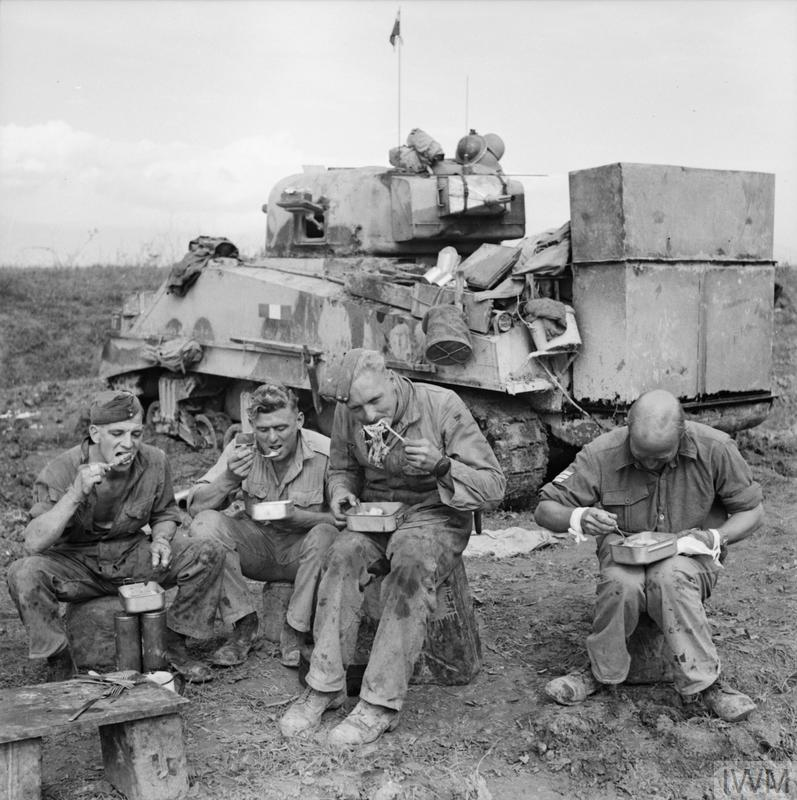 The British Army In Italy 1943 Na 7782