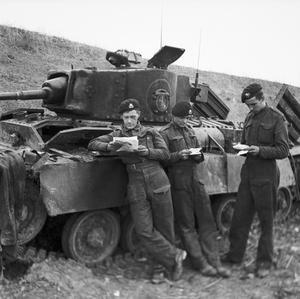 THE BRITISH ARMY IN TUNISIA 1942