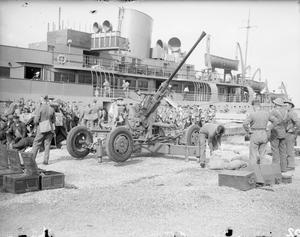 THE BRITISH EXPEDITIONARY FORCE IN FRANCE, 1939