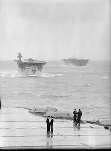 FLEET AIR ARM SERIES. SEPTEMBER 1942, ON BOARD HMS VICTORIOUS.