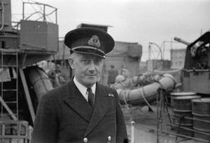 OFFICERS COMMANDING HM SHIPS. 2ND TO THE 12TH MARCH 1943, LIVERPOOL.