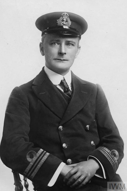 Commander Fitzroy Henry Hall