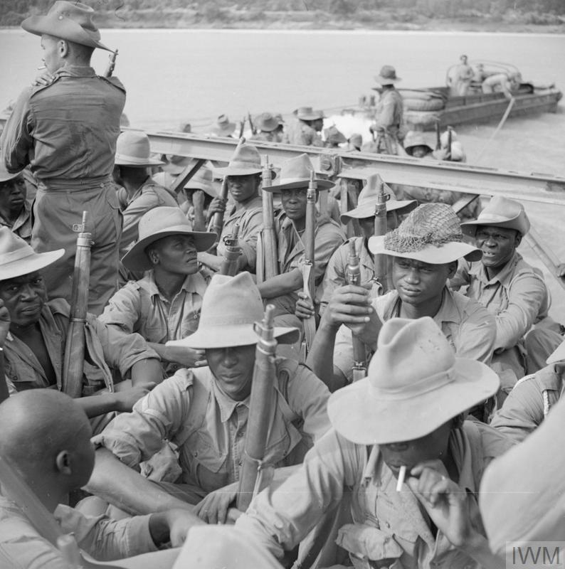 THE BRITISH ARMY IN BURMA 1945 (SE 1900