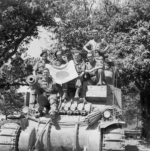 THE BRITISH ARMY IN BURMA 1945