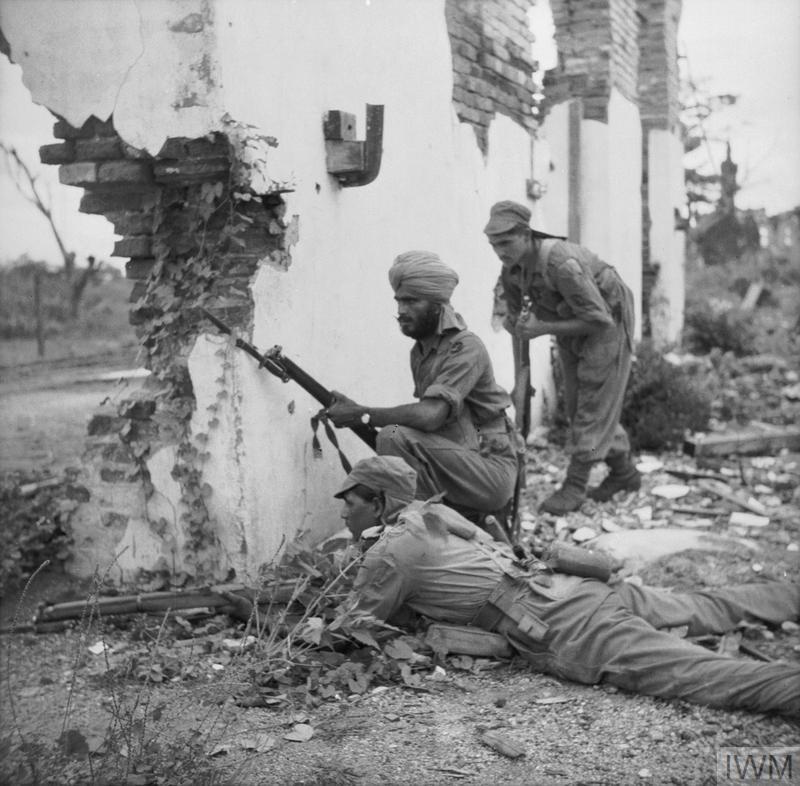 BRITISH ARMY BURMA 1945 (SE 4081)