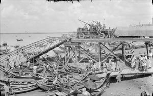 THE BRITISH ARMY IN BURMA 1945