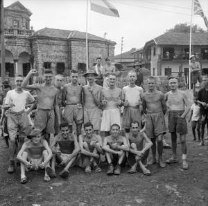 THE BRITISH ARMY IN THE FAR EAST 1945