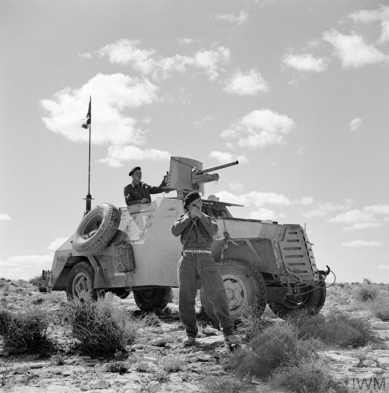 SOUTH AFRICAN FORCES IN NORTH AFRICA DURING THE SECOND