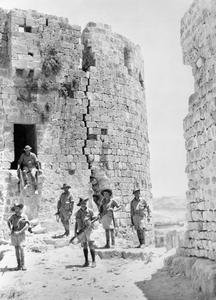 AUSTRALIAN FORCES IN LEBANON, 1941