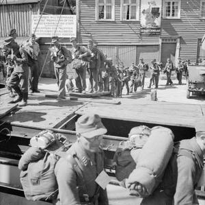 NORWAY AFTER LIBERATION 1945