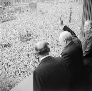 THE VE DAY, 8 MAY 1945