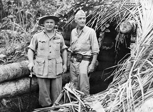 AUSTRALIAN FORCES IN NEW GUINEA, 1943