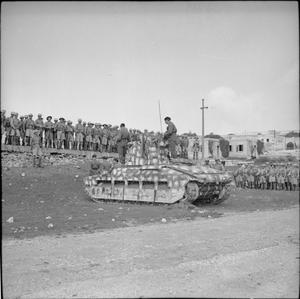 THE BRITISH ARMY ON MALTA 1942