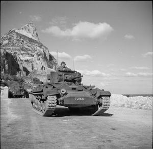 THE BRITISH ARMY ON GIBRALTAR 1942