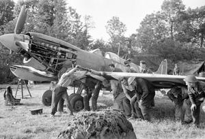 THE ROYAL CANADIAN AIR FORCE IN NORMANDY, JUNE 1944