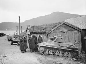 THE BRITISH ARMY IN NORWAY APRIL - JUNE 1940