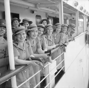 AUSTRALIAN NURSES IN SINGAPORE, OCTOBER 1941