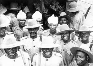 WEST AFRICAN TROOPS IN INDIA DURING THE SECOND WORLD WAR